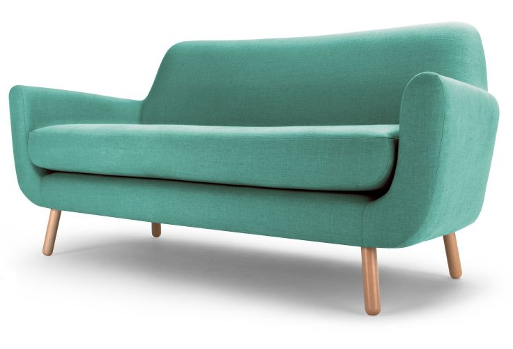 Jonah 2 Seater Sofa in Med blue £499 | made.com