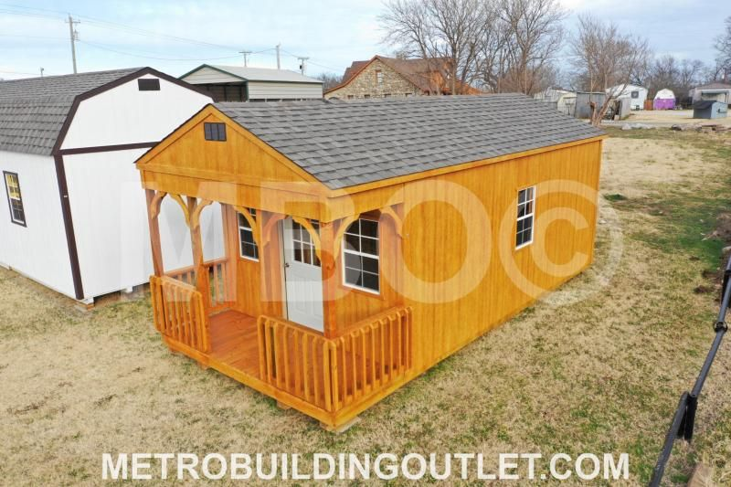 12x24 utility cabin portable storage buildings built in