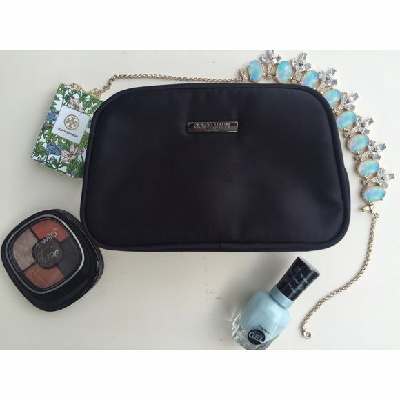3c35ed0ae320 Giorgio Armani Cosmetic Pouch Authentic Giorgio Armani Cosmetic nylon pouch!  • Giorgio Armani Parfums • Super spacious with two small pockets   1 bigger  ...