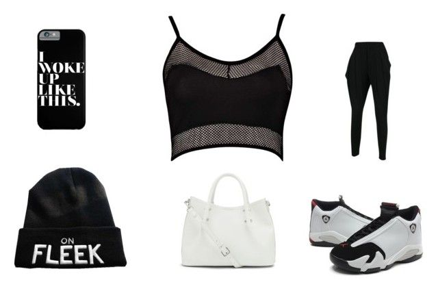 """Going to a basketball game look."" by diamondj205 on Polyvore"