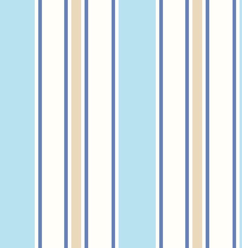 2679 002147 Sunshine Stripe Sky Stripe By Brewster Striped Wallpaper Stripes Wallpaper Wallpaper Samples Blue striped wallpaper for bathrooms