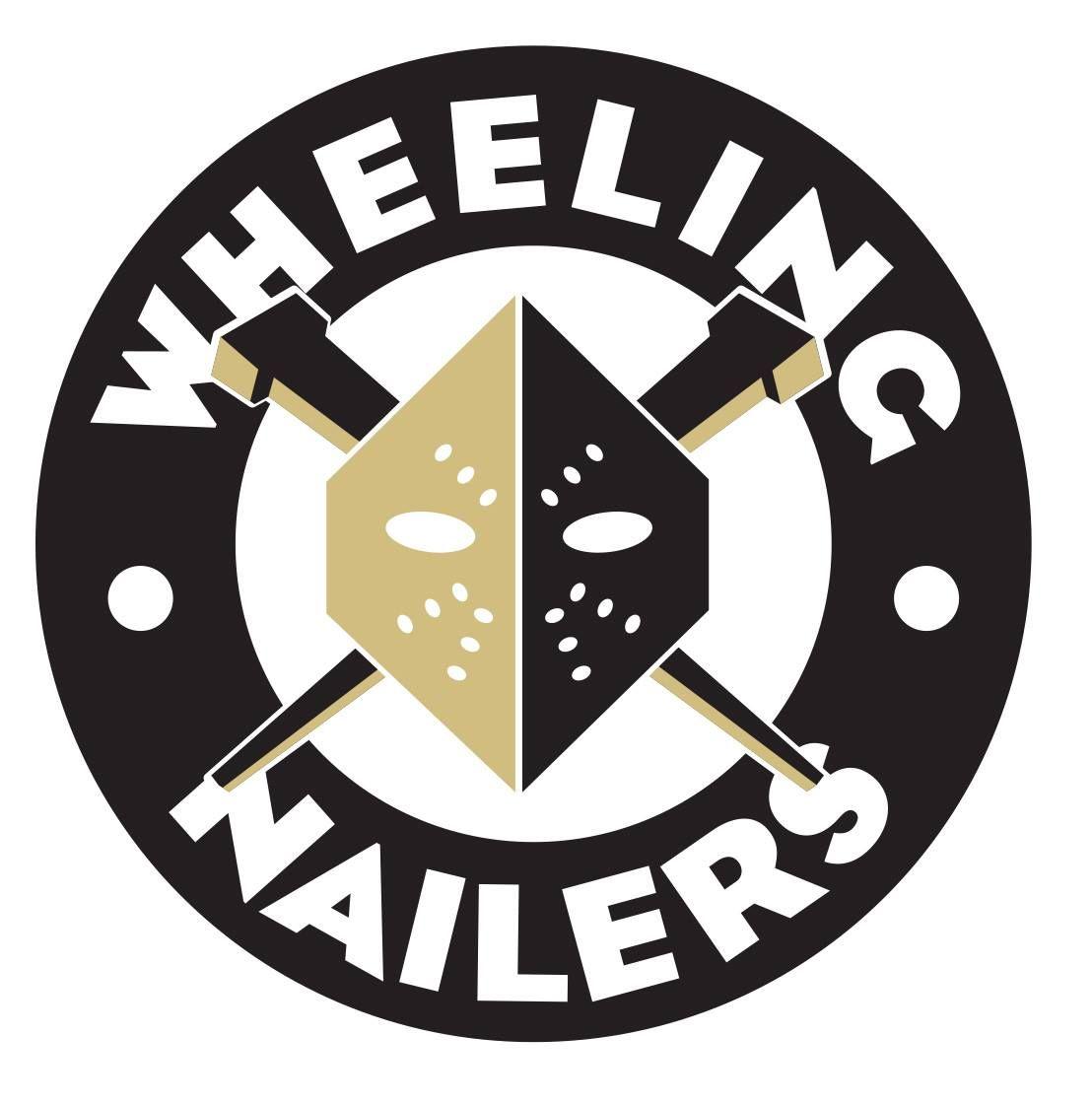 ECHL Wheeling Nailers Wheeling nailers, Hockey logos