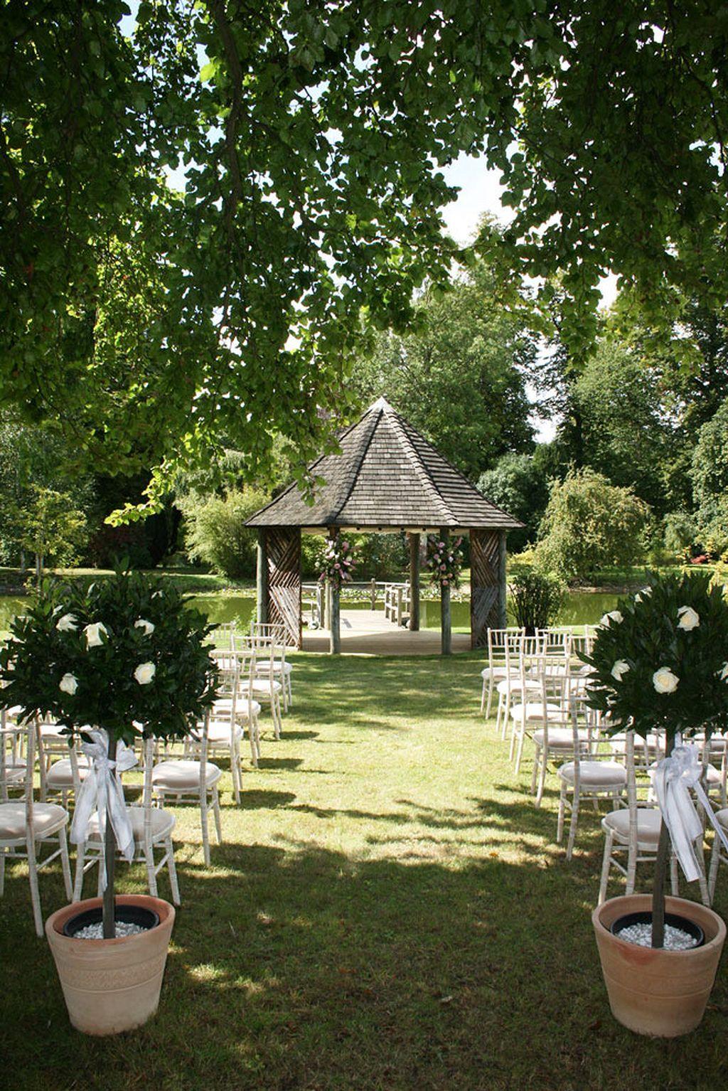80 Wedding Aisle Decoration Ideas   Weddings, Pond wedding and Wedding