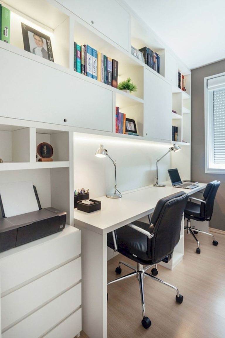 55 modern workspace design ideas small spaces (36) (With ...