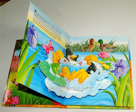 childrens pop up books - Printing With Children