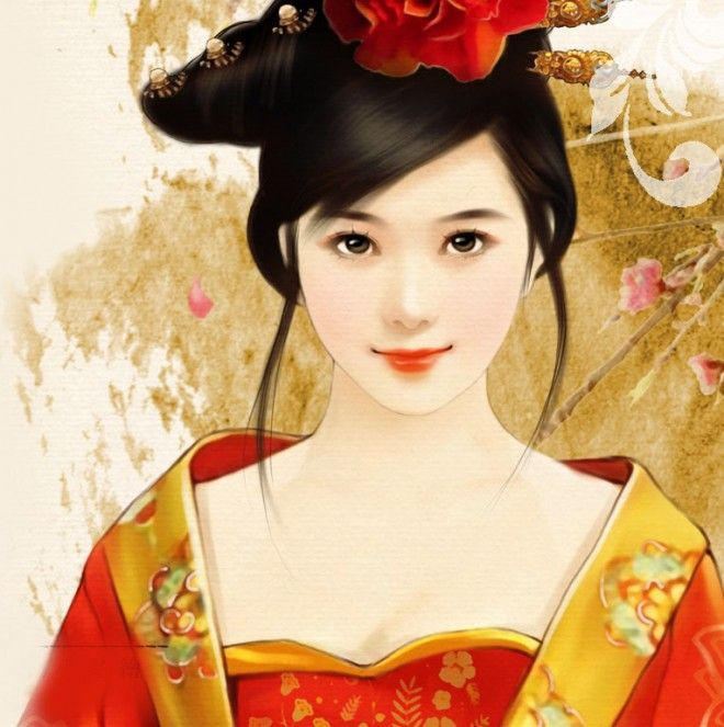 40 most beautiful chinese paintings for your inspiration chinese chinese painting girl woman voltagebd Image collections
