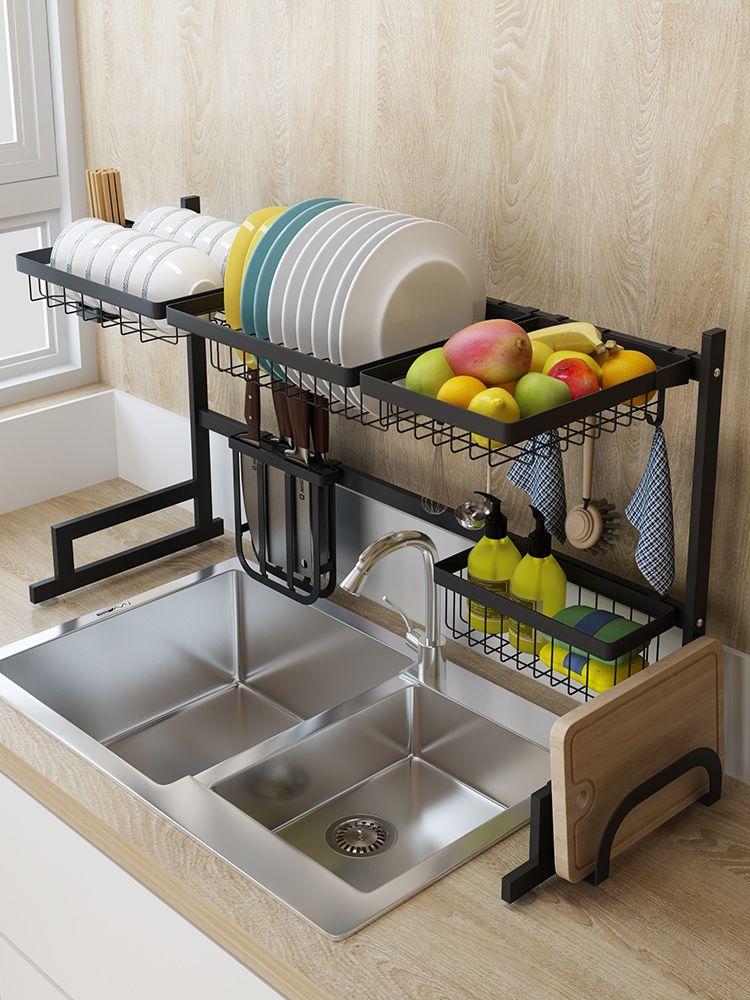 black over sink dish drying rack sink length 32 5 inch kitchen decor tidy kitchen kitchen items list pinterest