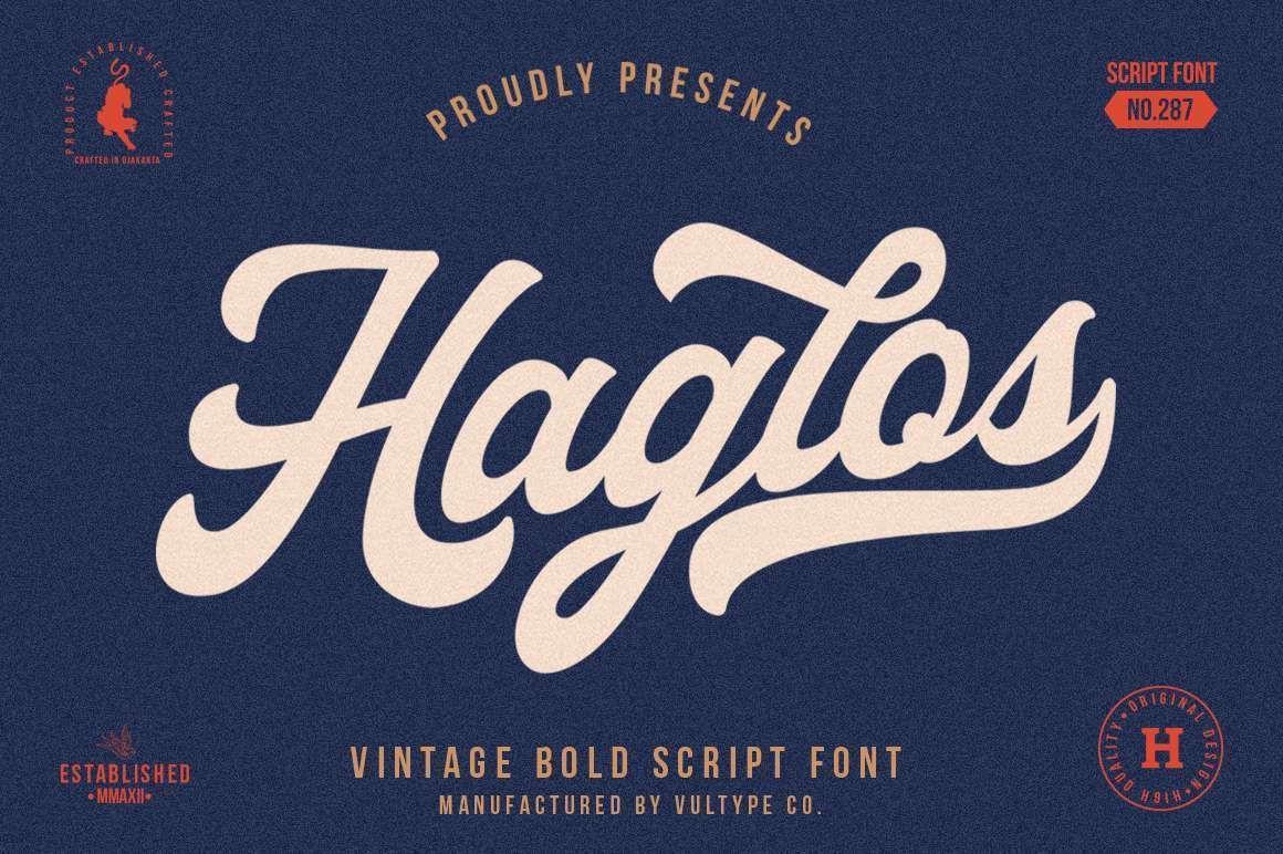 Haglos Bold Script Font In 2020 Bold Script Font Free Script Fonts Script Fonts