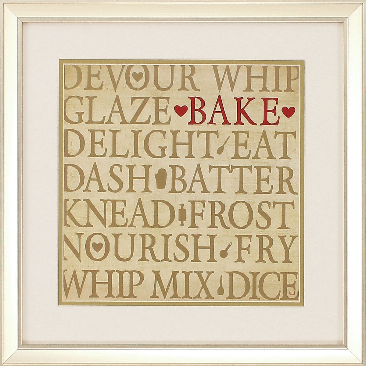 Chefs Words 2 Piece Framed Textual Art Set | Products | Pinterest ...