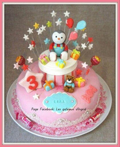 Préférence Cake design. Gâteau personnalisé en pâte à sucre sur le thème  HR58