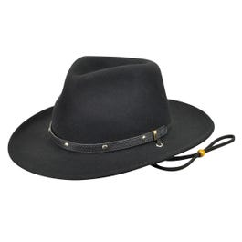 The Bailey Western Eddy Bros Calaboose Is A Cassidy Crown Shape Made With Soft Wool Felt It Has A Faux Leather Ba Cowboy Hats Western Hats Mens Fashion Smart