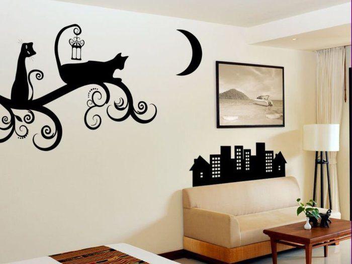 Дизайн рисунок на стене