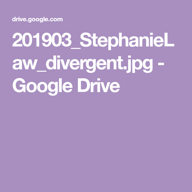 Pin by Jane Newman on Stephanie law | Divergent, Google drive, Menu