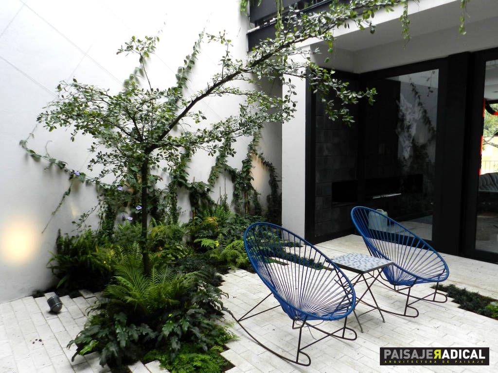 Busca imágenes de diseños de Jardines estilo moderno}: Área de descanso. . Encuentra las mejores fotos para inspirarte y y crear el hogar de tus sueños.