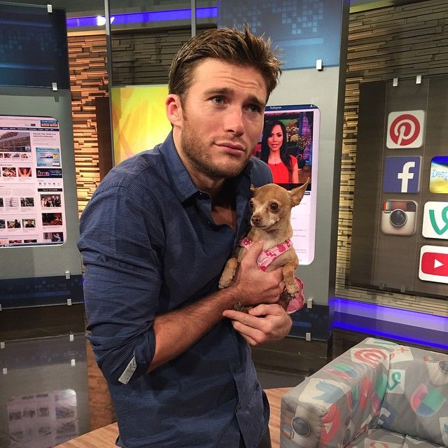 Pin for Later: Scott Eastwood's Instagram Is Full of Shirtless Snaps and Puppies