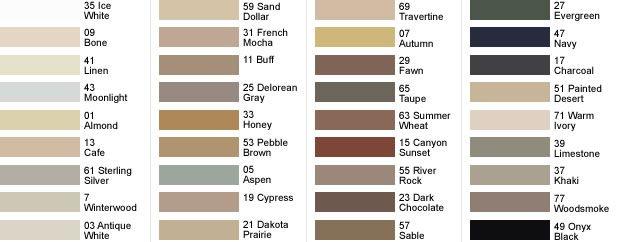 tile grout caulk bonsal colors 10