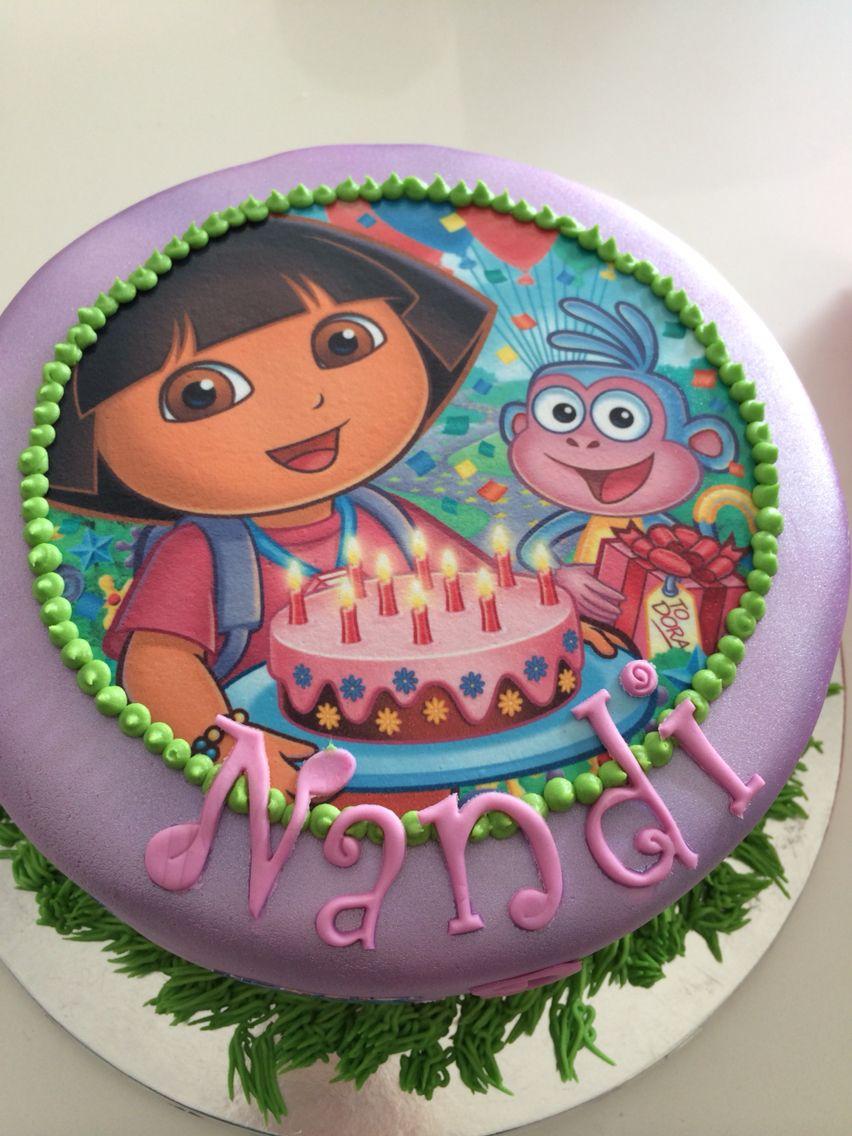 Dora Birthday Cake To Order Email Jackiebabazoo Babazoo