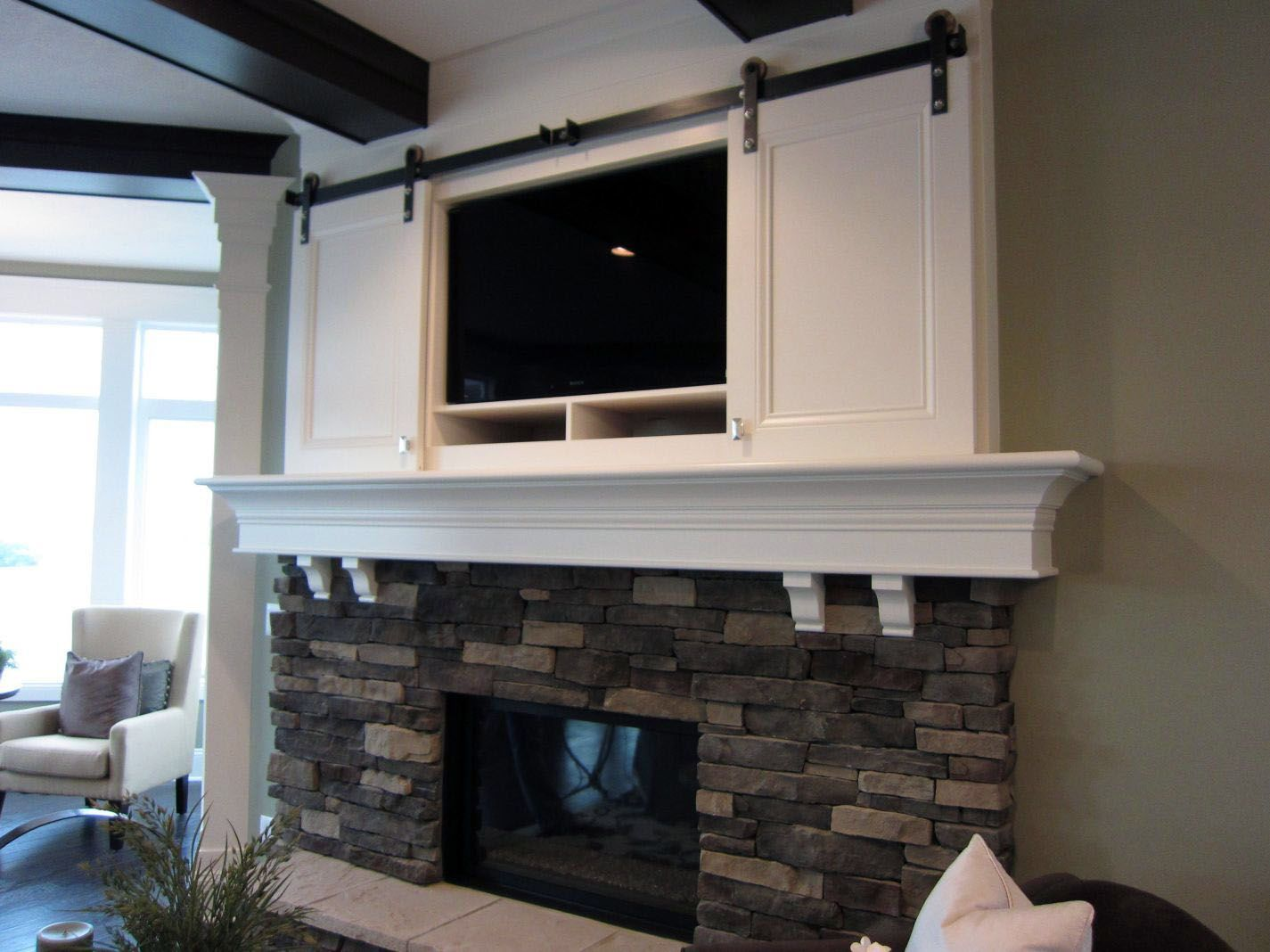 3 Myths About Mounting Tvs Over Fireplaces Wood Fireplace Surrounds Fireplace Design Tv Above Fireplace