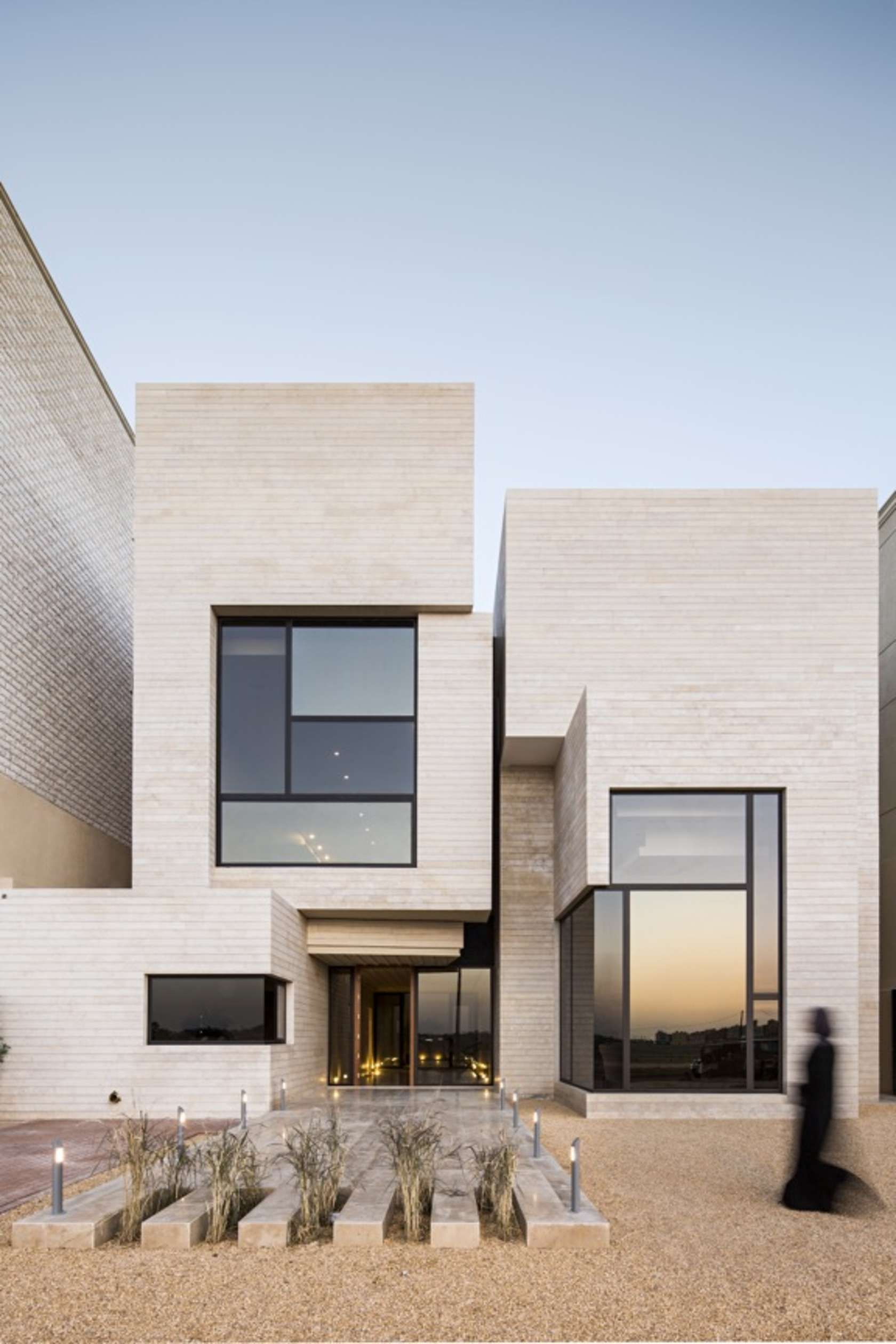 Modern window house design  gulf architecture  modern kuwaiti residences u architizer  arch