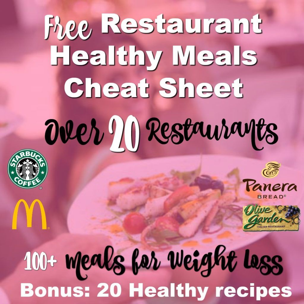 You don't have to miss another meal out again!  You can still lose weight while