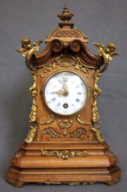 Zegar Kominkowy Lenzkirch Xix Wiek 6678230539 Oficjalne Archiwum Allegro Clock Mantle Clock Ornaments Design