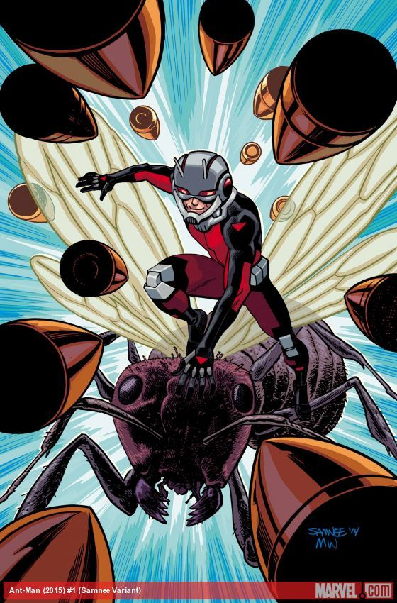 Ant-Man #1 variant cover by Chris Samnee
