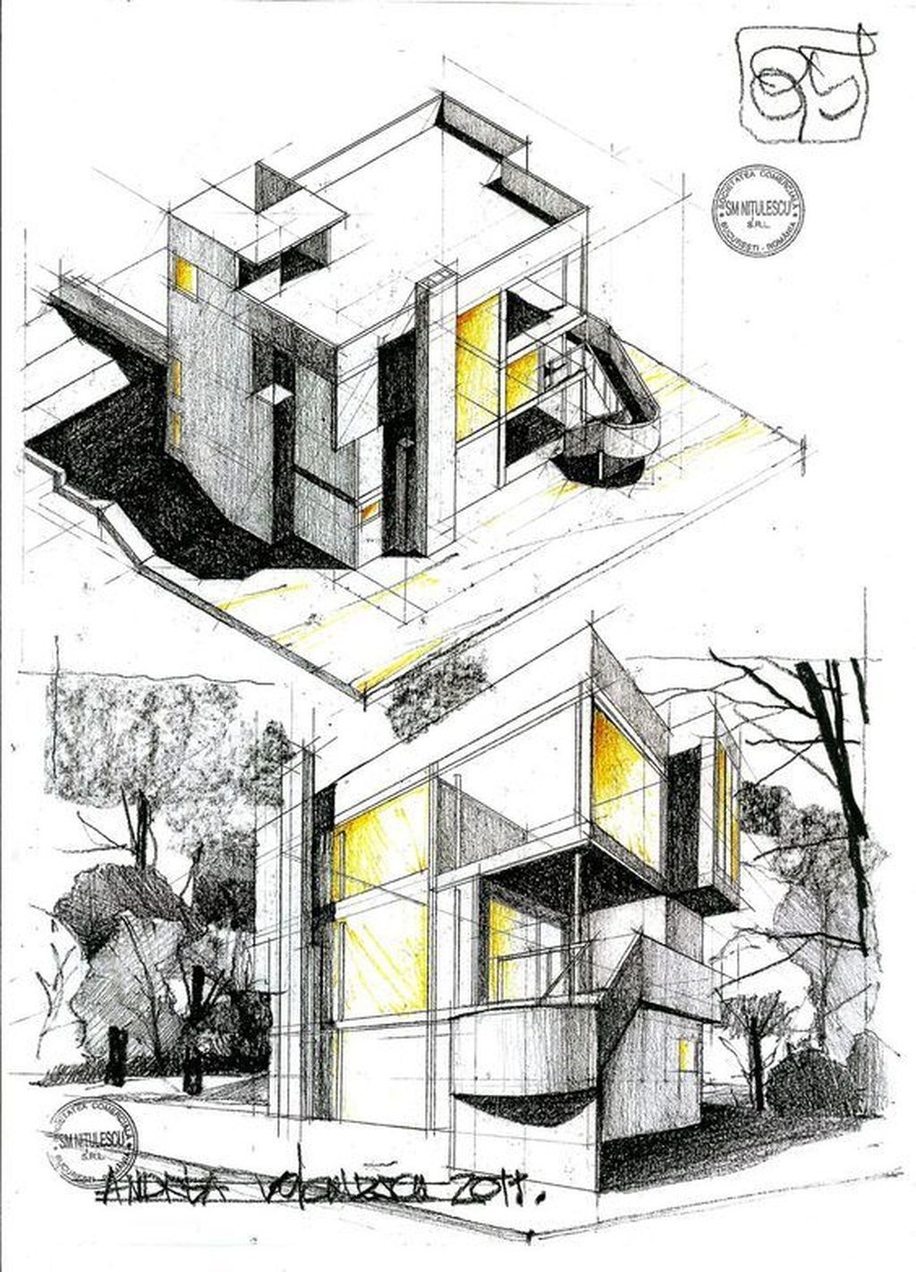 17 Mesmerizing And Detail Architectural Drawing