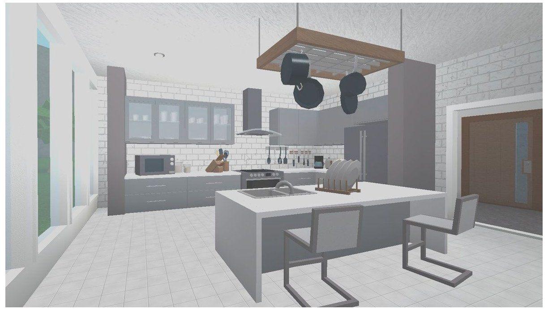 28 Gorgeous Kitchen Ideas Bloxburg Gallery #bloxburg #kitchen