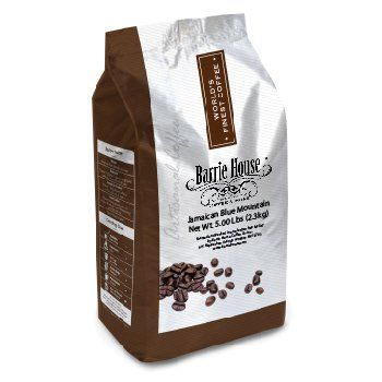 Barrie House Jamaica Blue Mountain Style Coffee 5 lb. Bag Whole Bean - http://www.teacoffeestore.com/barrie-house-jamaica-blue-mountain-style-coffee-5-lb-bag-whole-bean/