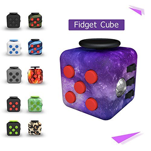 Fidget Cube 6 Sided Autism Children 10 Year Old Boy Best Christmas Toys