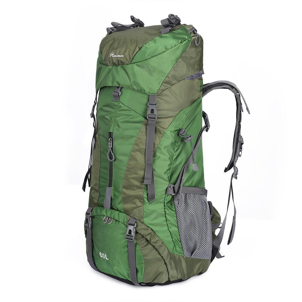 OutdoorMaster Hiking Backpack 60L - Internal Frame Weekend ...