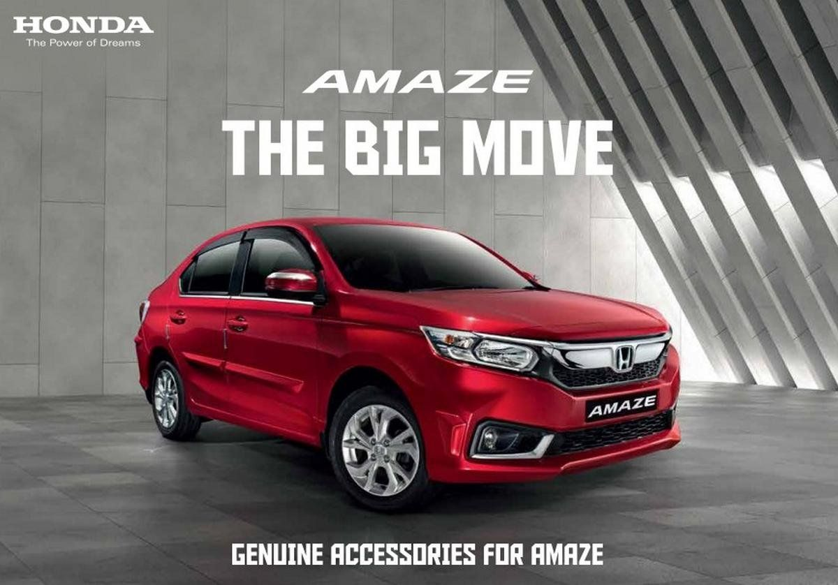 Honda Amaze Accessories Full List With Prices In 2020 Honda Rear Bumper Protector Honda Website