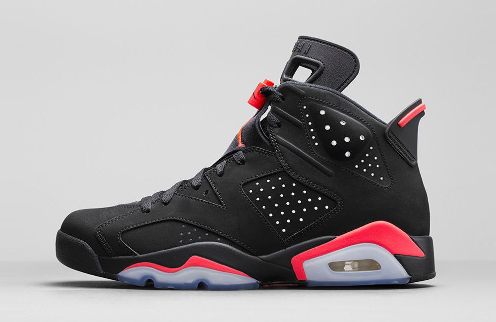 bcd52dc9da3 Ah, the Jordan 6. How I've wanted a pair since Jr. High. I finally got a  pair of 6s in the Infrared colorway. This was the Black Friday 2014 release.
