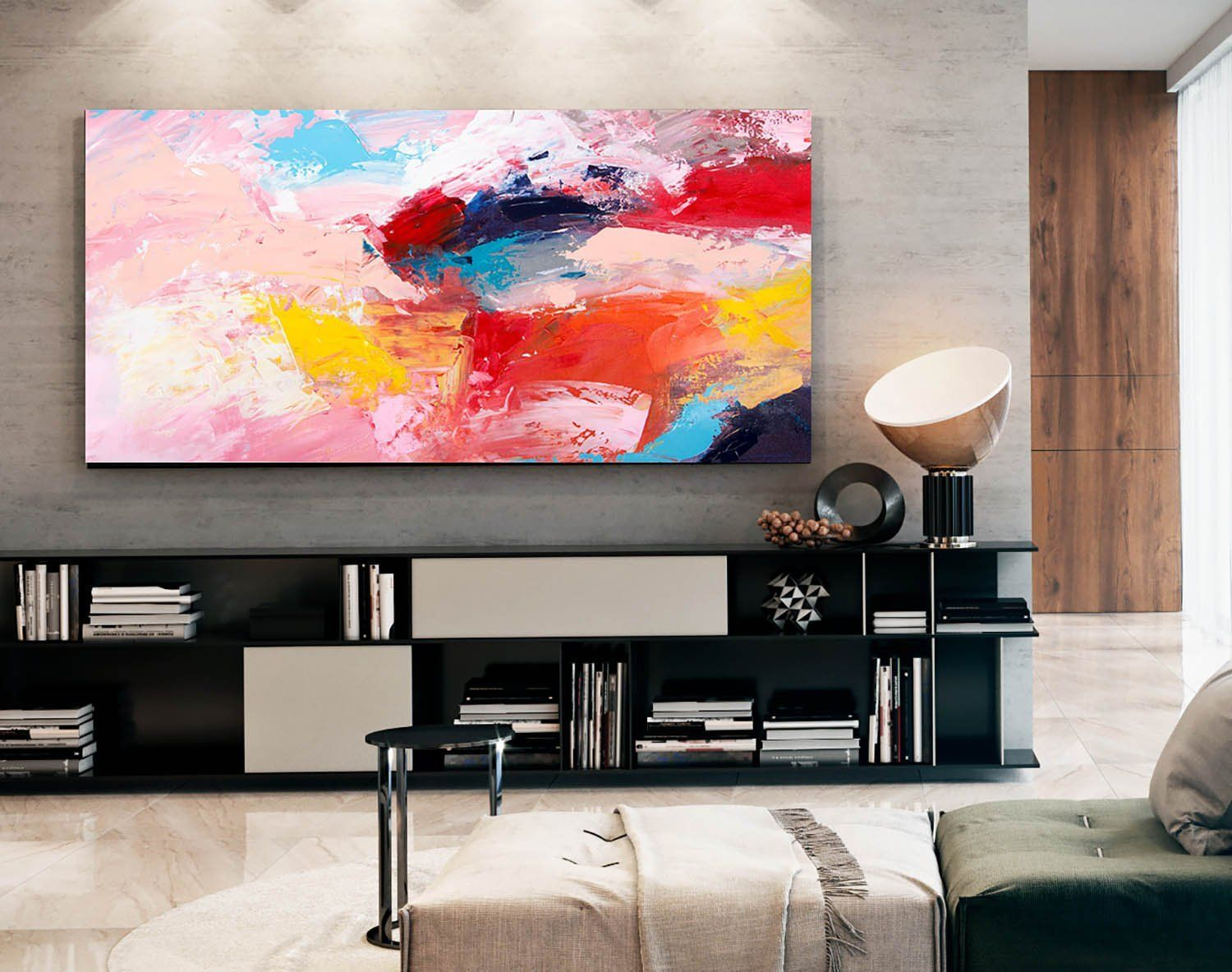 Original Abstract Painting On Canvas Textured Horizontal Vertical Modern Extra Large Wall Art Abstra Modern Art Living Room Modern Art Decor Oversized Wall Art #vertical #paintings #for #living #room