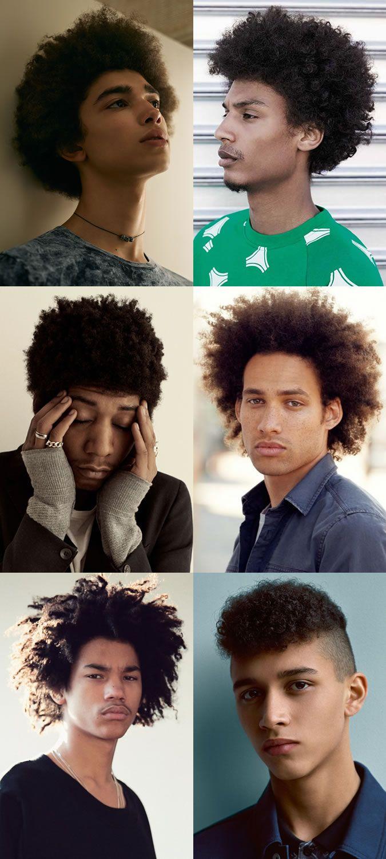 43+ Afro styles male 2015 ideas