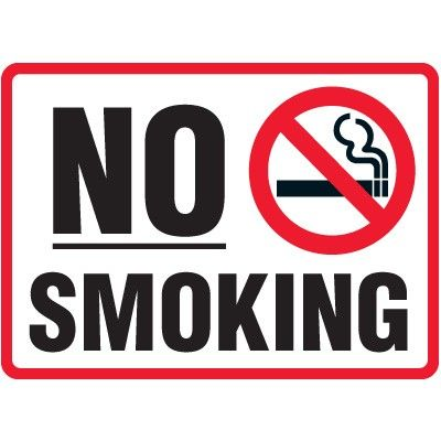 image relating to No Smoking Sign Printable called Pin upon Daily life Is Fantastic!