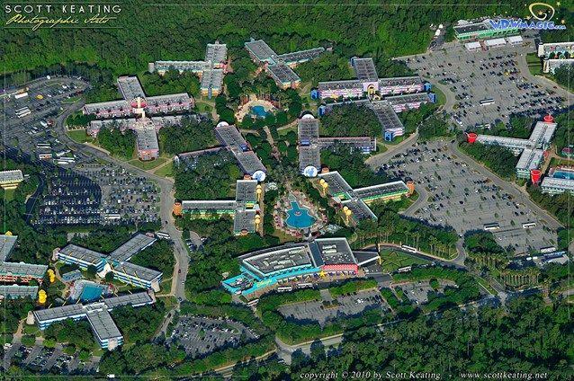 Walt Disney World Aerial Photos Disney S All Star Music Resort