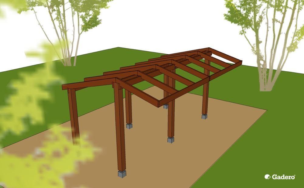Dak kapschuur bouwen tips en tekeningen tuinhuisje bouw