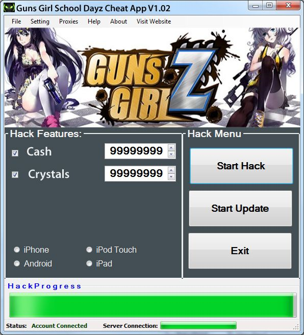 Guns Girl Scool Dayz Hack And Cash Crystal Cheat With Images