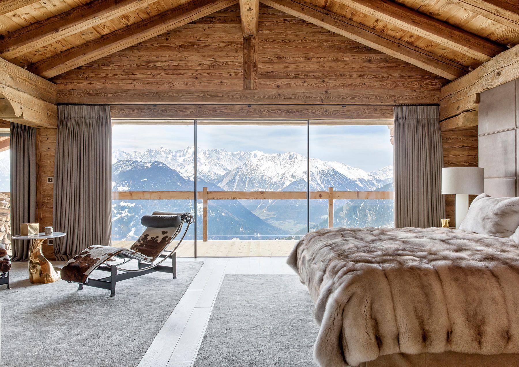 Un chalet espectacular en los alpes suizos casas espectaculares chalet casas y alpes - Casas en los alpes suizos ...