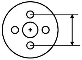 How To Measure Wheel Bolt Pattern Roadkill Customs Bolt Pattern Pattern Bolt