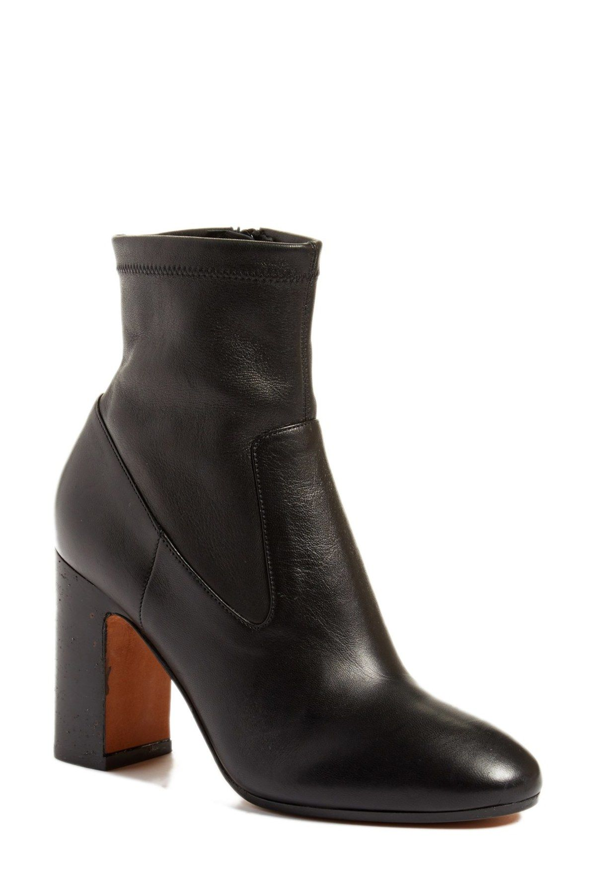 Calista Block Heel Bootie | Products