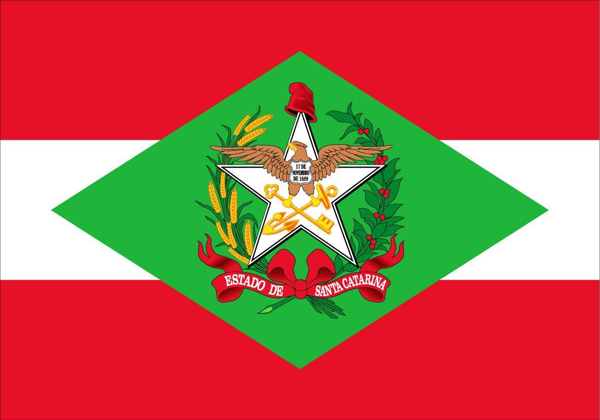 Bandeira De Santa Catarina Com Imagens Bandeira De Santa