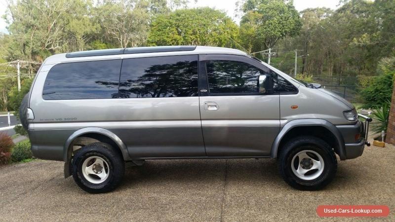 5a2f98935d 1998 Mitsubishi Delica Long Wheel base Dual fuel 4WD Van  mitsubishi   epf6wsuperexceedspacegear  forsale  australia