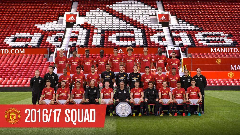 Manchester United Squad 2016 17 Chelsi