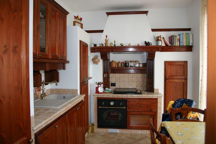 Cucina in stile country - Camini Fai da Te - Camini Milano ...
