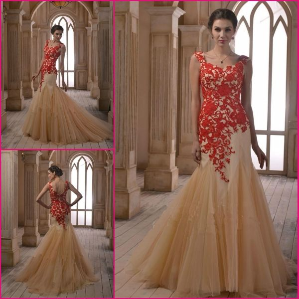 Red And Gold Wedding Dress Uniixe
