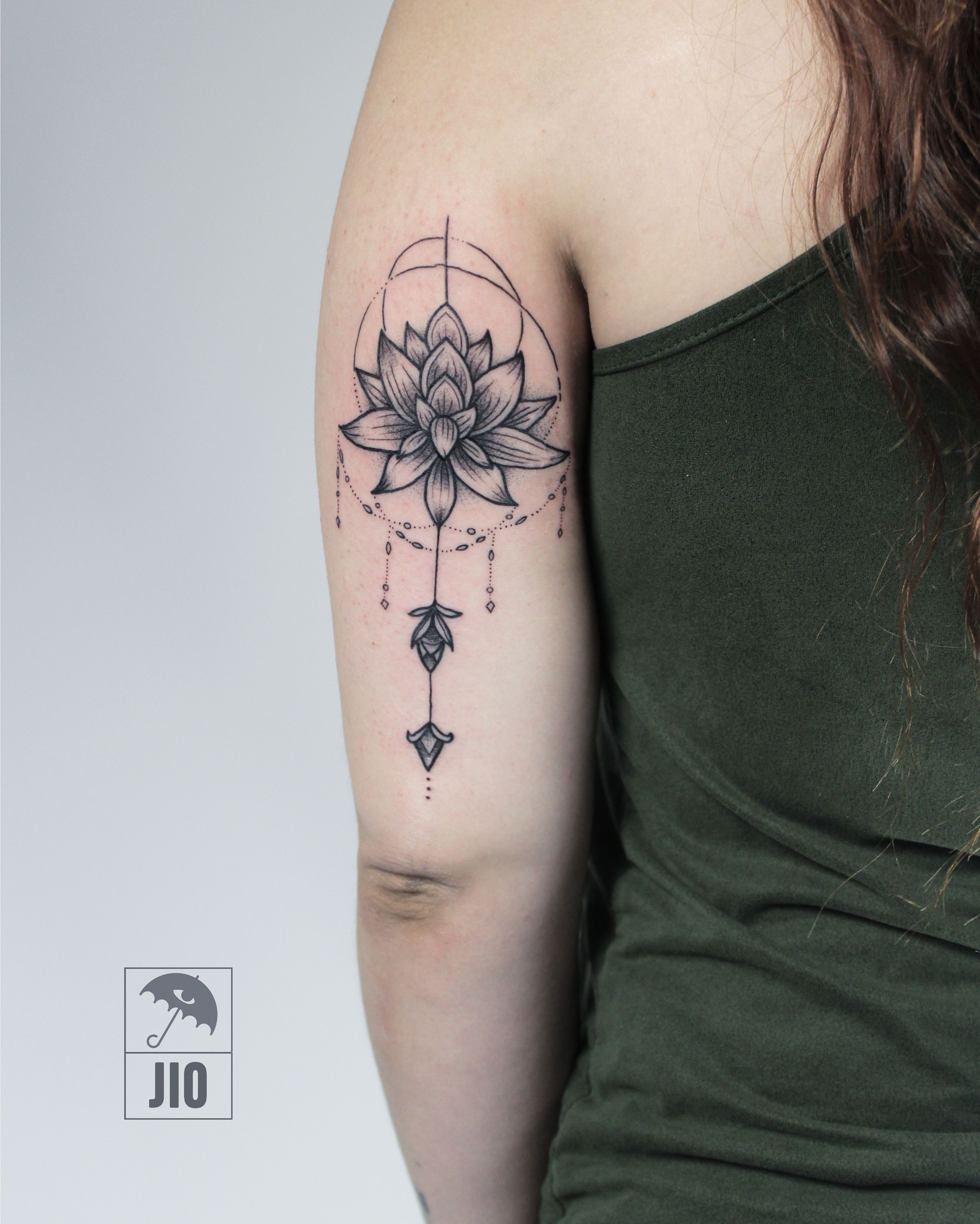Black, Black Tattoo, Blackwork, Blackwork Tattoo, Black