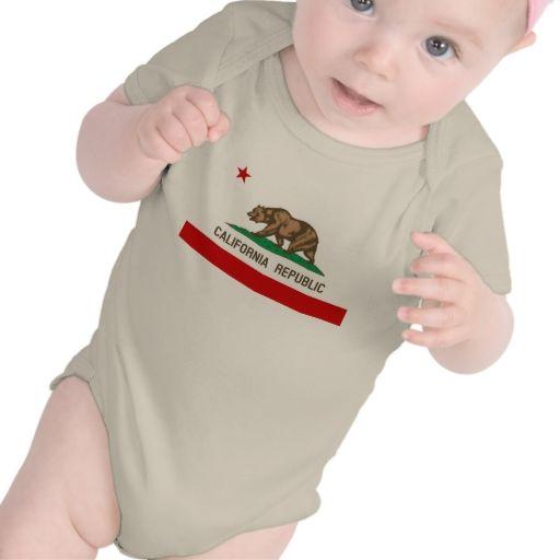 Vintage California Republic State Flag Baby Bodysuit Zazzle Com Baby Bodysuit Personalized Baby Clothes Baby Boy