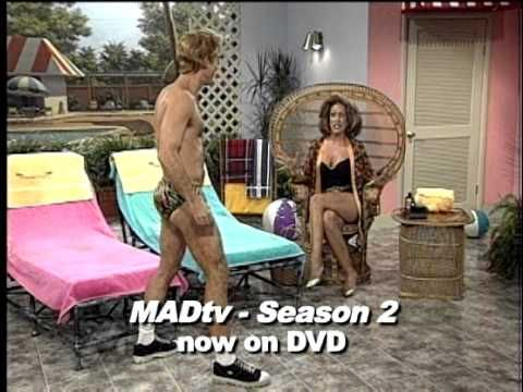 Dixie Wetsworth Brings Us The Dance Of The Pool Boy In This Cabana Chat Clip From Madtv Season 2 Starring Nicole Sulliv Mad Tv Favorite Tv Characters Pool Boy